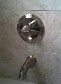 Delta Shower Valve Repair   Tampa Plumbers
