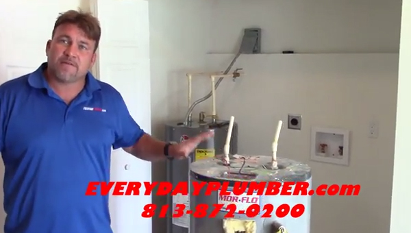 Tampa Plumbers -Water Heater Repair Tutorial Video